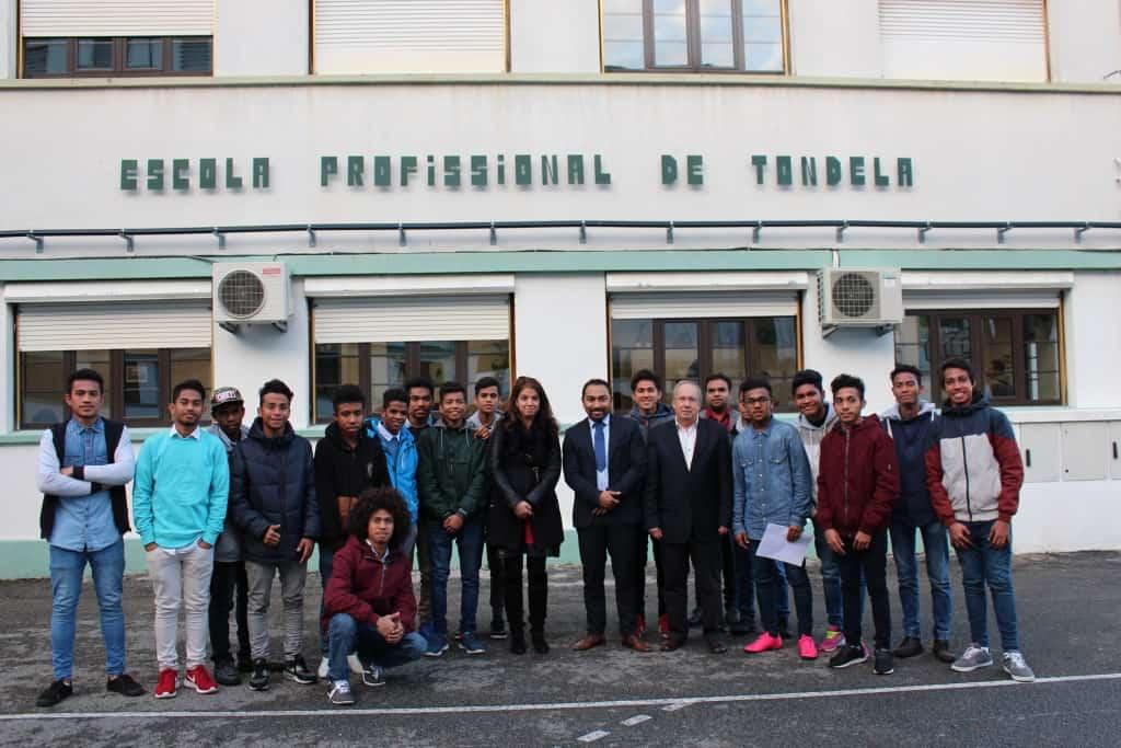 Visita do Sr. Adido de Educação da Embaixada de Timor-Leste