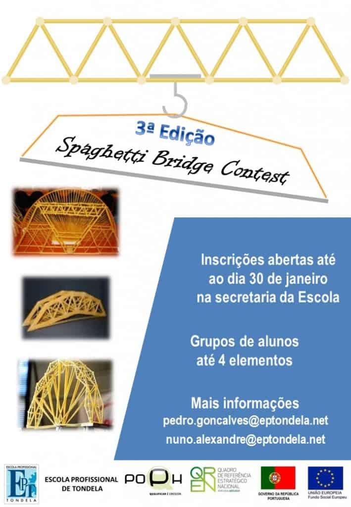 3º Spaghetti Bridge Contest [Cartaz]