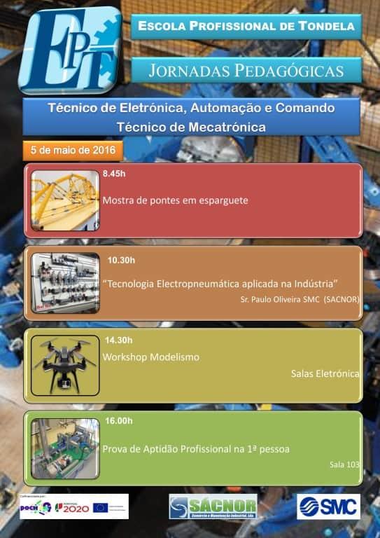 Jornadas Pedagógicas de Eletrónica, Automação e Comando e Mecatrónica [Cartaz]