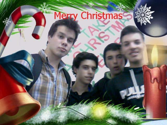 Línguas à Mesa – Christmas Selfies