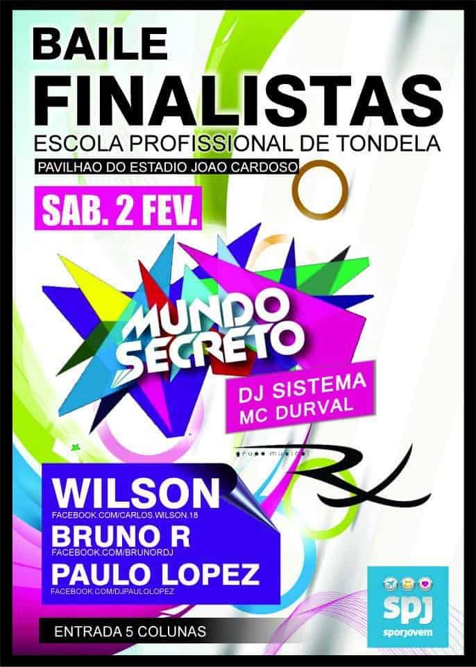 Baile de Finalistas 2012