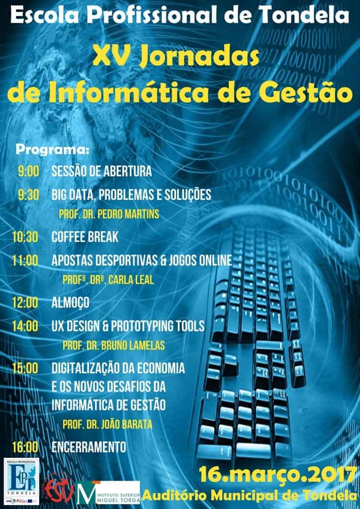 XV Jornadas de Informática de Gestão [Cartaz]