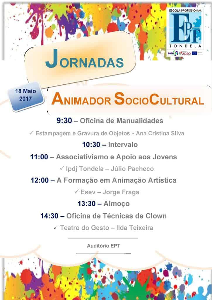 Jornadas Pedagógicas de Animação Sociocultural 2017 [Cartaz]